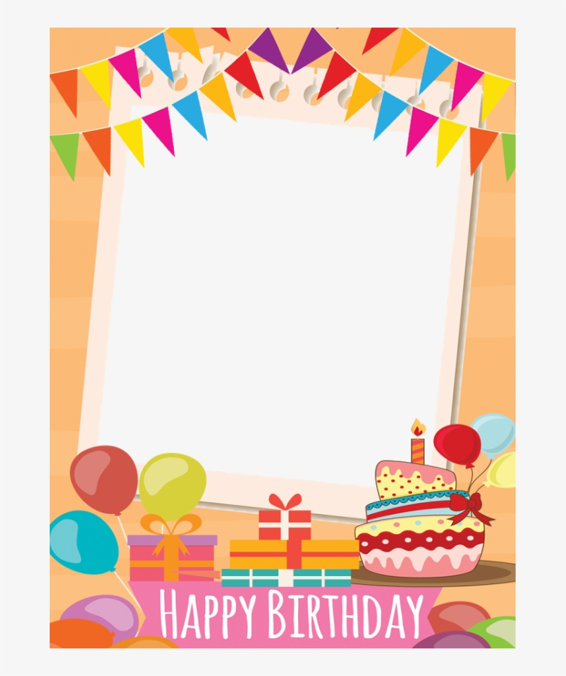 Frame Happy Birthday Png Png Transparent Library - Happy Birthday