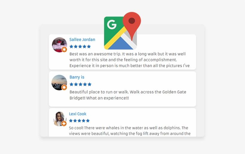 Google Places Reviews - Google Maps Transparent PNG - 569x436 - Free