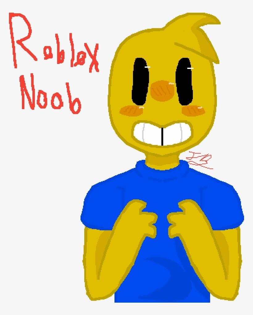 Roblox Noob - Roblox Transparent PNG - 1000x1000 - Free