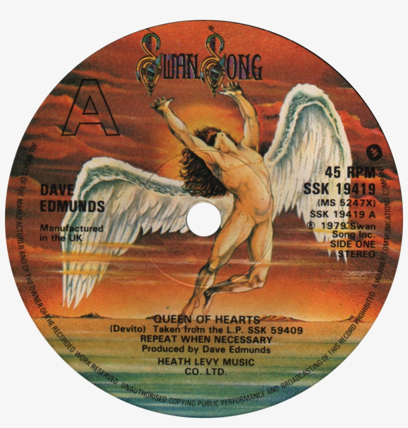 Swan song records bad company led zeppelin physical graffiti.