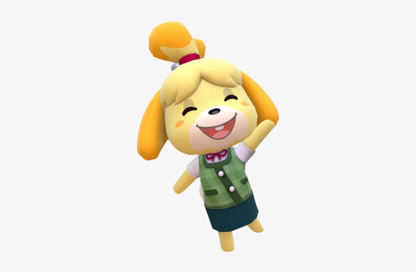 Isabelle Animal Crossing Smash Transparent Png 405x486 Free