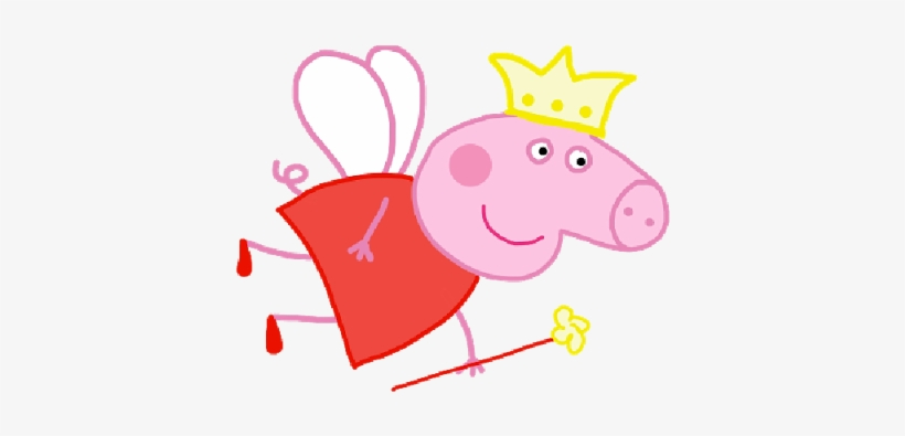Peppa Pig Funny Fairy Party Clipart 1 U0026middot Peppa Peppa Pig Transparent Png 400x400 Free Download On Nicepng