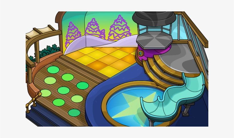 Igloo Buildings Sprites 58 - Big Igloo Club Penguin