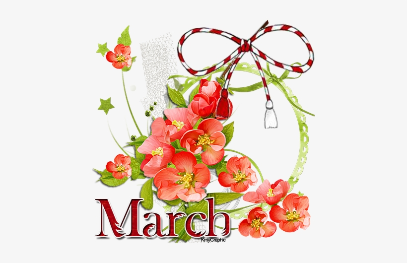 March banner. Royalty free clipart friendship