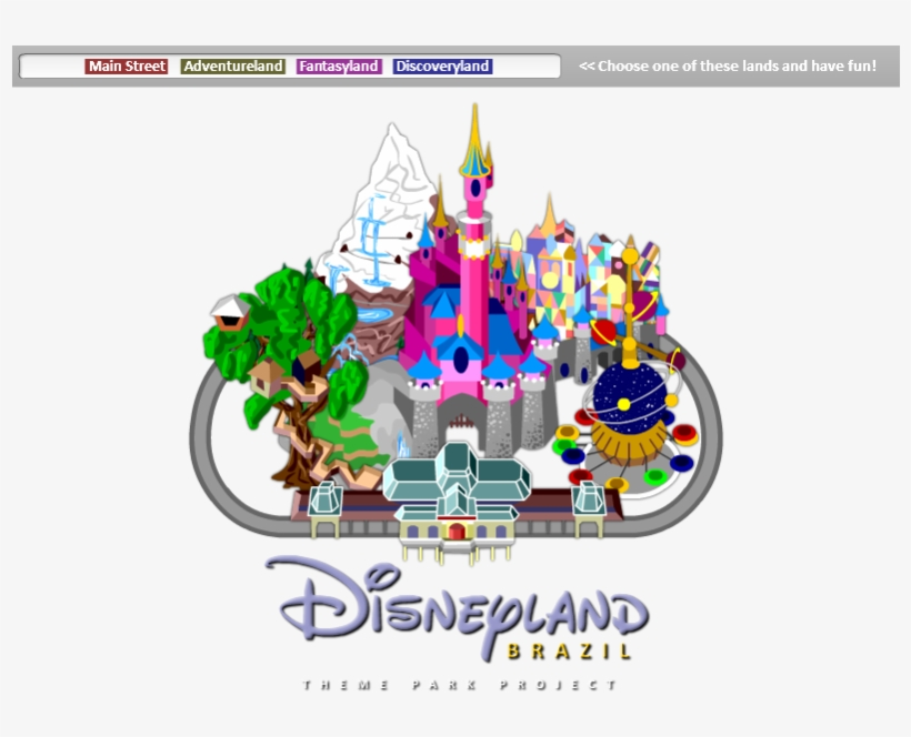 Disneyland - Disneyland Map Clipart Transparent PNG ... on disneyland minecraft download, disney world map download, disneyland california,