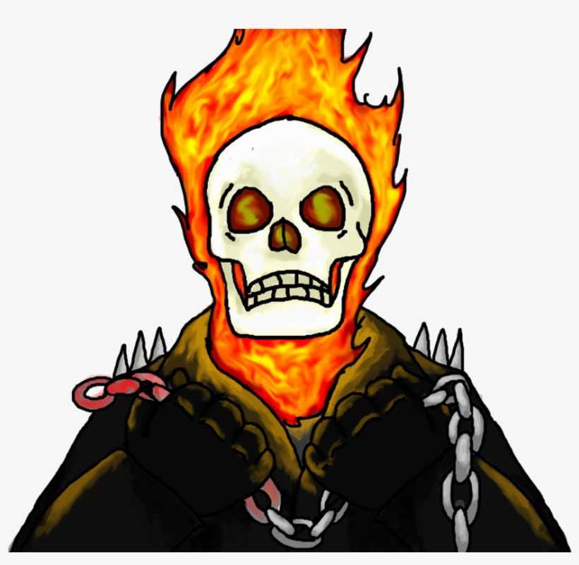 Drawing Marker Ghost Rider Clip Art Free Ghost Rider 2 Png