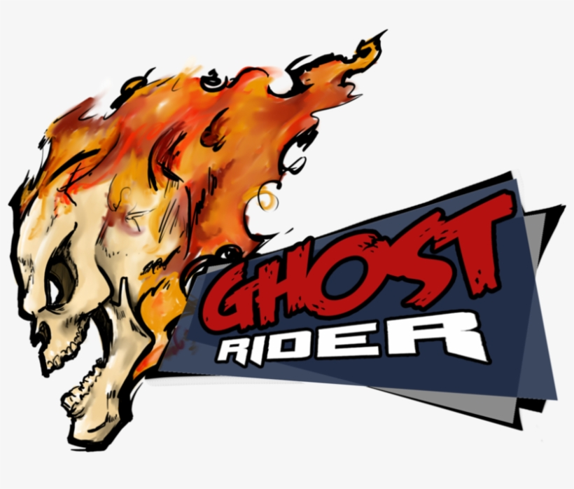 Ghost Rider Vector Freeuse Library Ghost Rider Cartoon Png