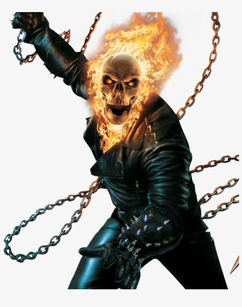 Ghost Rider - Ghost Rider - Sony Psp Transparent PNG - 908x960