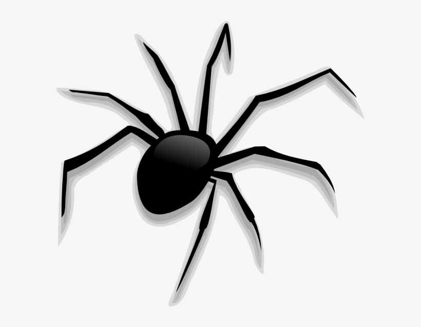 Halloween Spider Clip Art At Clker - Scary Spider Clipart ...