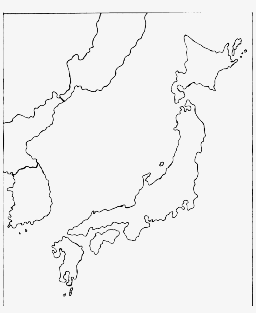 Blank Map Of Japan Transparent Png 1023x1200 Free Download On Nicepng
