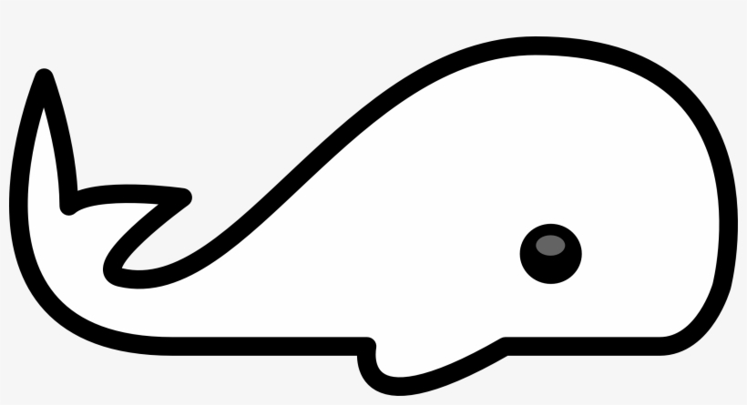Clip Arts Related To - Cute Whale Coloring Page Transparent PNG - 2555x1263  - Free Download On NicePNG