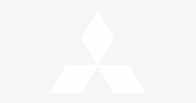 Mitsubishi - Mitsubishi Logo White Transparent Transparent PNG