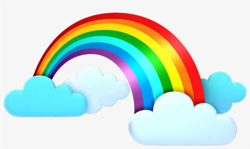 Rainbow Clipart Weather Clouds Rainbow Png Clipart Transparent Png