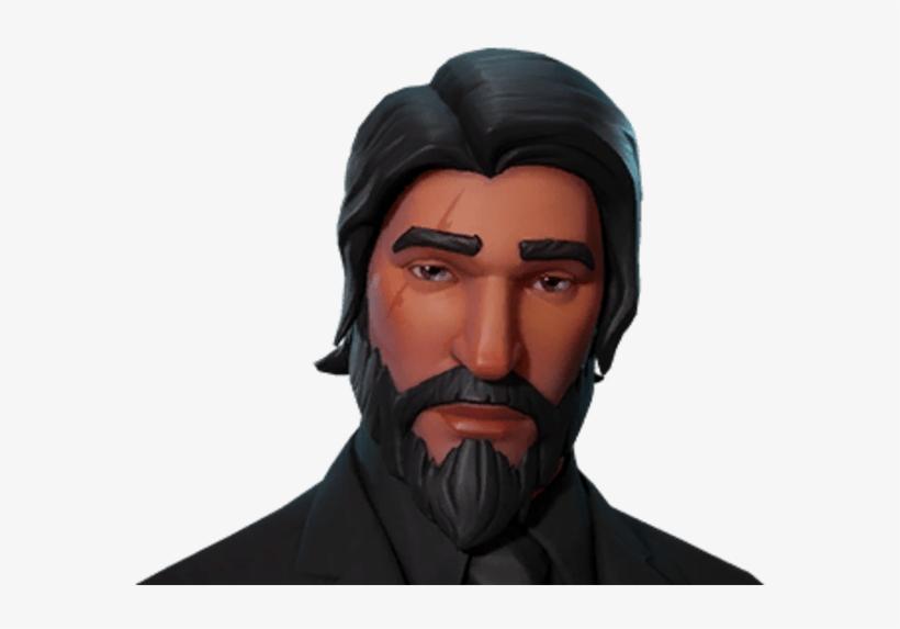 The Reaper John Wick Fortnite Skin Transparent Png 912x516