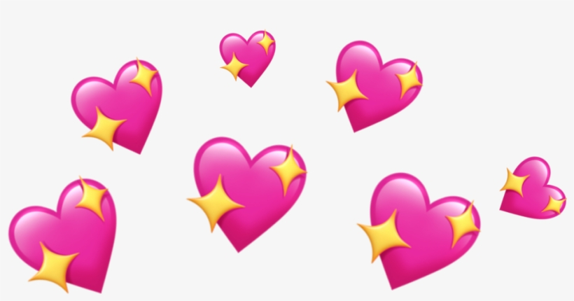 report abuse source heart emoji crown transparent