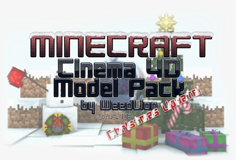 Cinema 4d Minecraft Packs And Rigs - Minecraft C4d Pack