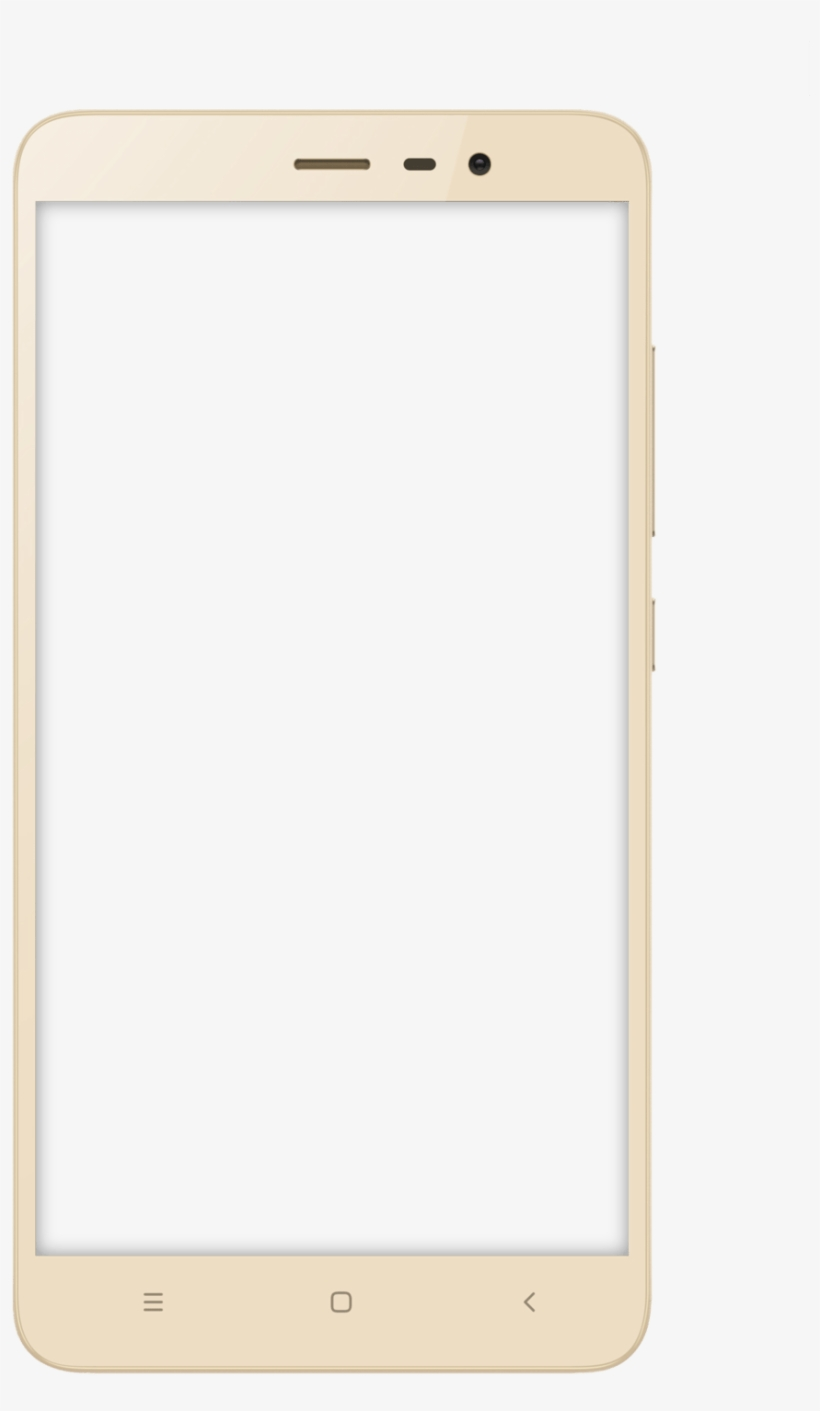 Mobile Frame Png - Smartphone Transparent PNG - 734x1089