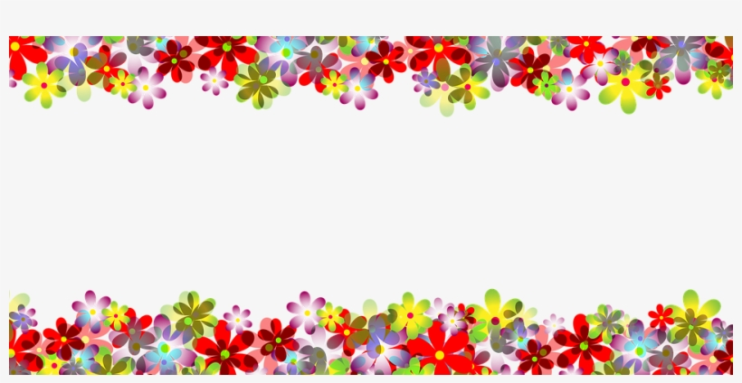 35+ Latest Banner Flower Border Png Design