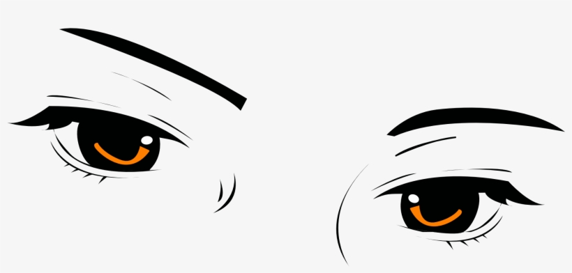 Anime Eyes Png Eyebrow Transparent Png 1920x960 Free