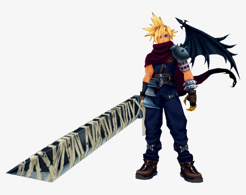 Cloud Strife Cloud Strife Kingdom Hearts Transparent Png
