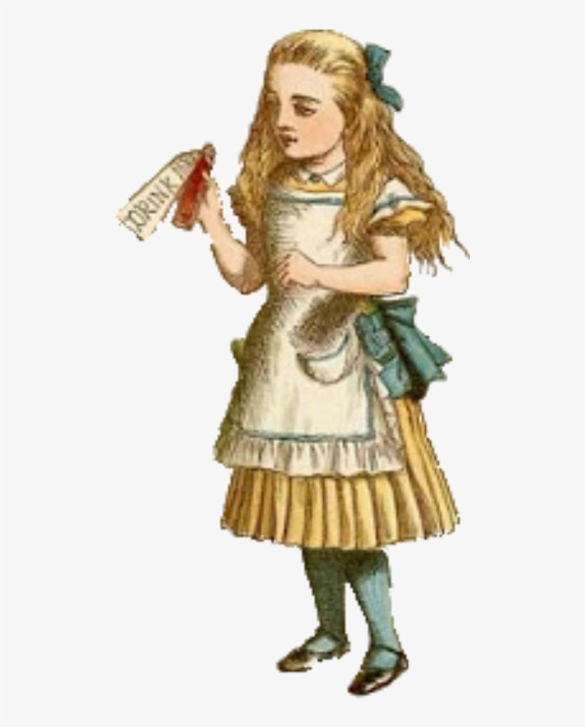 graphic regarding Alice in Wonderland Printable known as Traditional Alice Within just Wonderland Reduce Out Pngs - Typical Alice Inside