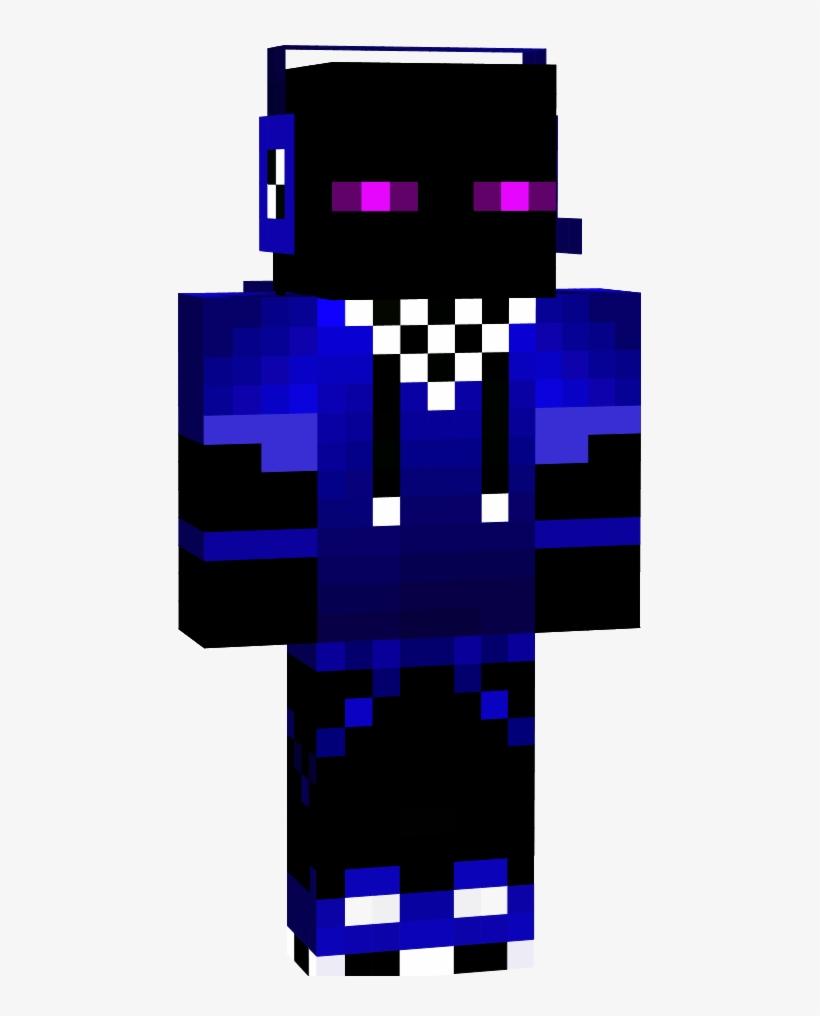 Enderman Minecraft Skin - Minecraft Skin Cool Enderman Transparent