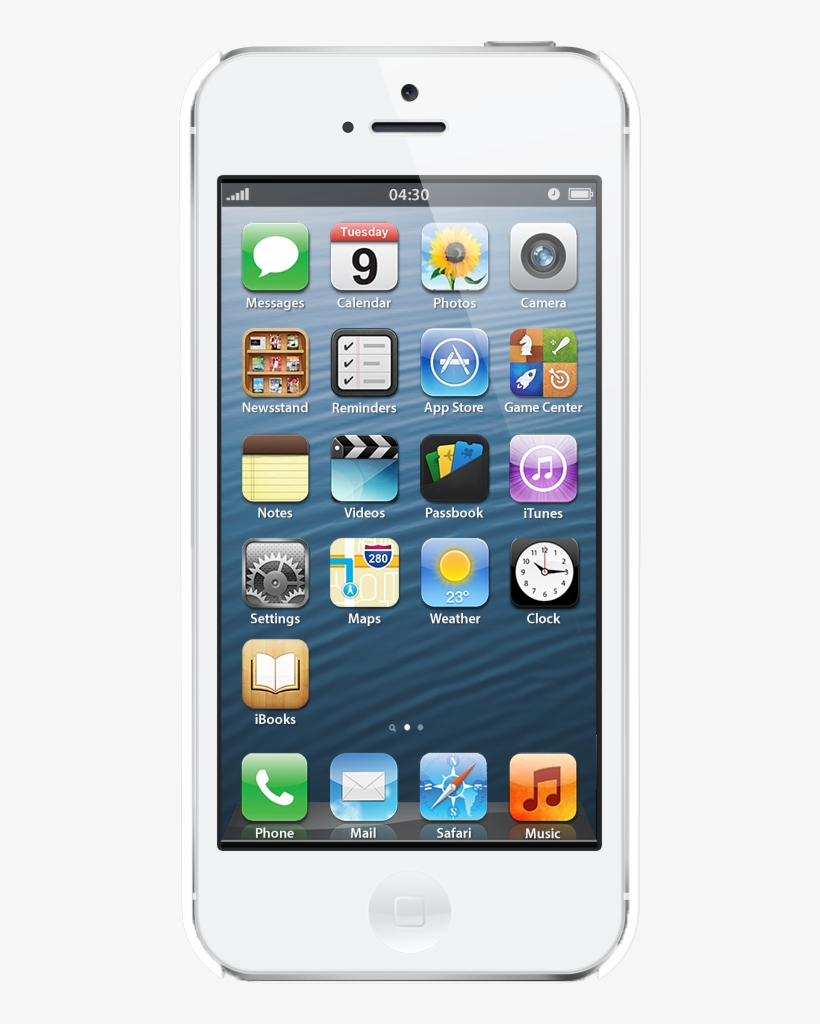 Iphone 5s Power Button Repair - Iphone 5 Blanc Transparent PNG