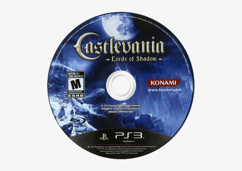 Lords Of Shadow Ps3 Disc - Castlevania / Game O  S  T : Castlevania