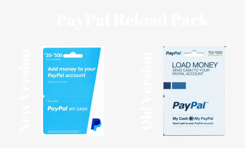 What's A Paypal Reload Pack - Paypal Gift Card, Transparent