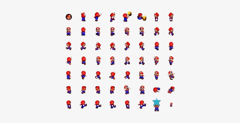Super Mario Rpg - Super Mario Rpg Mario Sprite Transparent