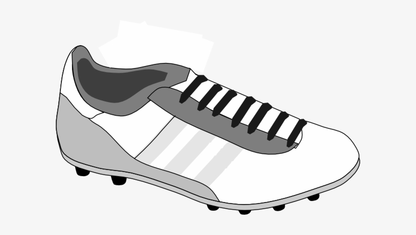 53538d55a944 Collection Of Free Boots Clipart Tennis Shoe - Clipart Football Boots