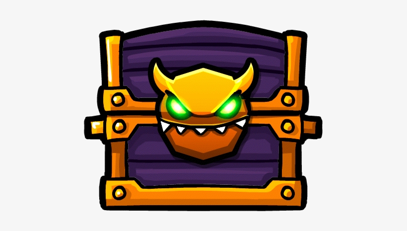 Goldchest Geometry Dash Demon Chest Transparent Png 481x385 Free Download On Nicepng
