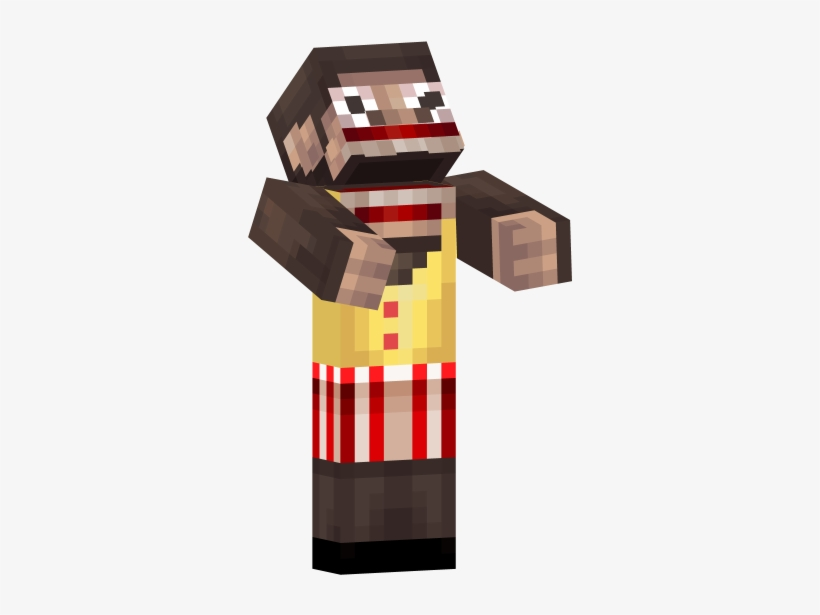 Really Scary Minecraft Skins Transparent PNG - 640x640