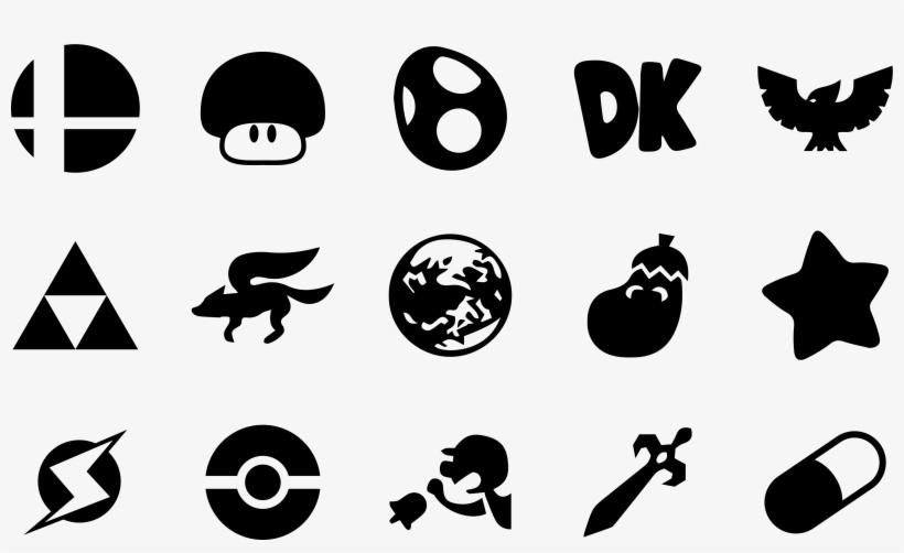 Super Smash Bros Melee Icons By One Seb On Deviantart Super Smash
