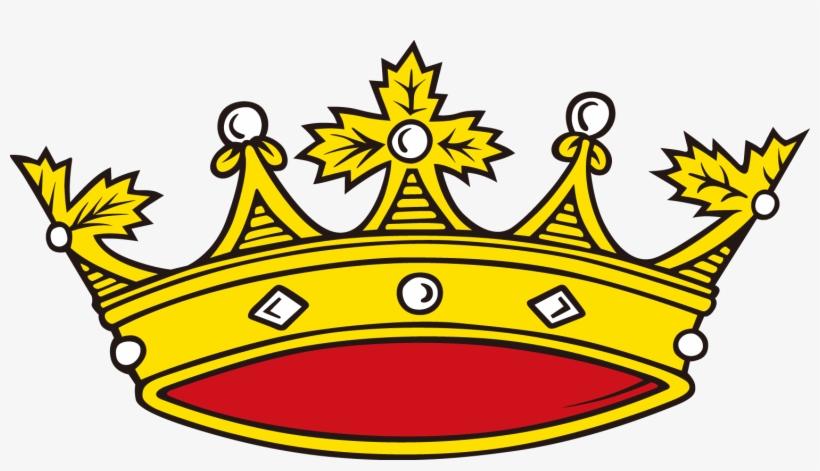 La De Reina Elizabeth Corona Dibujos Animados Transparent Png