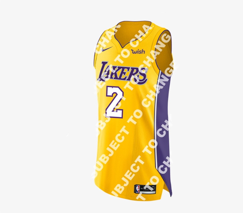 4b81b61bf Los Angeles Lakers Lonzo Ball 2018-19 Icon Edition - New Laker Jerseys 2018  19
