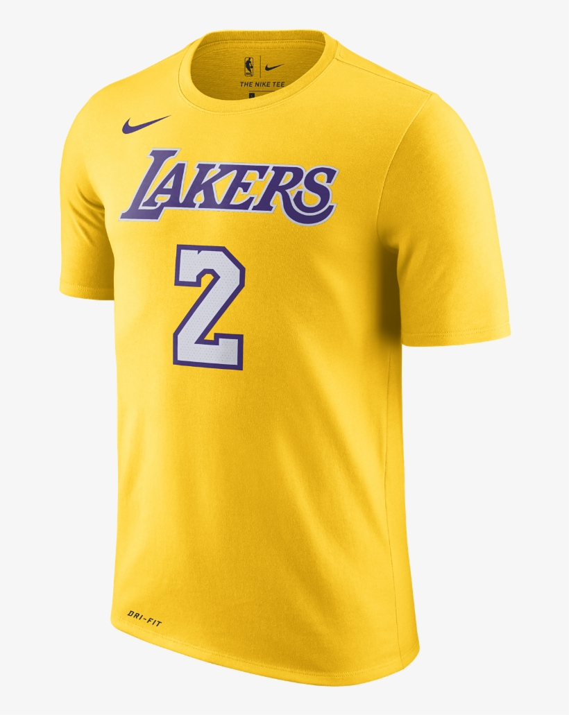 796afe056 Lonzo Ball Los Angeles Lakers Nike Dry Men s Nba T-shirt - Lebron James Lakers  T Shirt