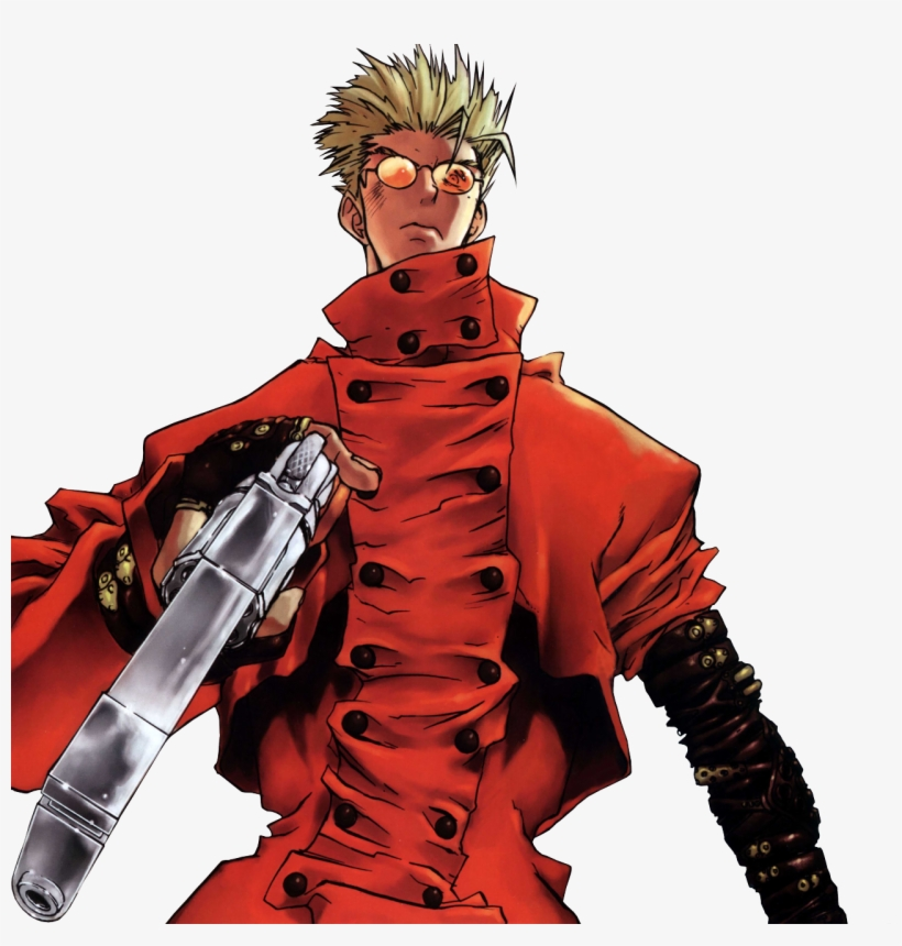 And Spike Spiegel Trigun Vash Stampede Render Transparent Png