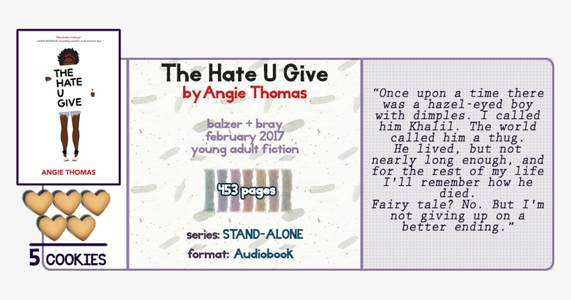 the hate you give audiobook chapter 5