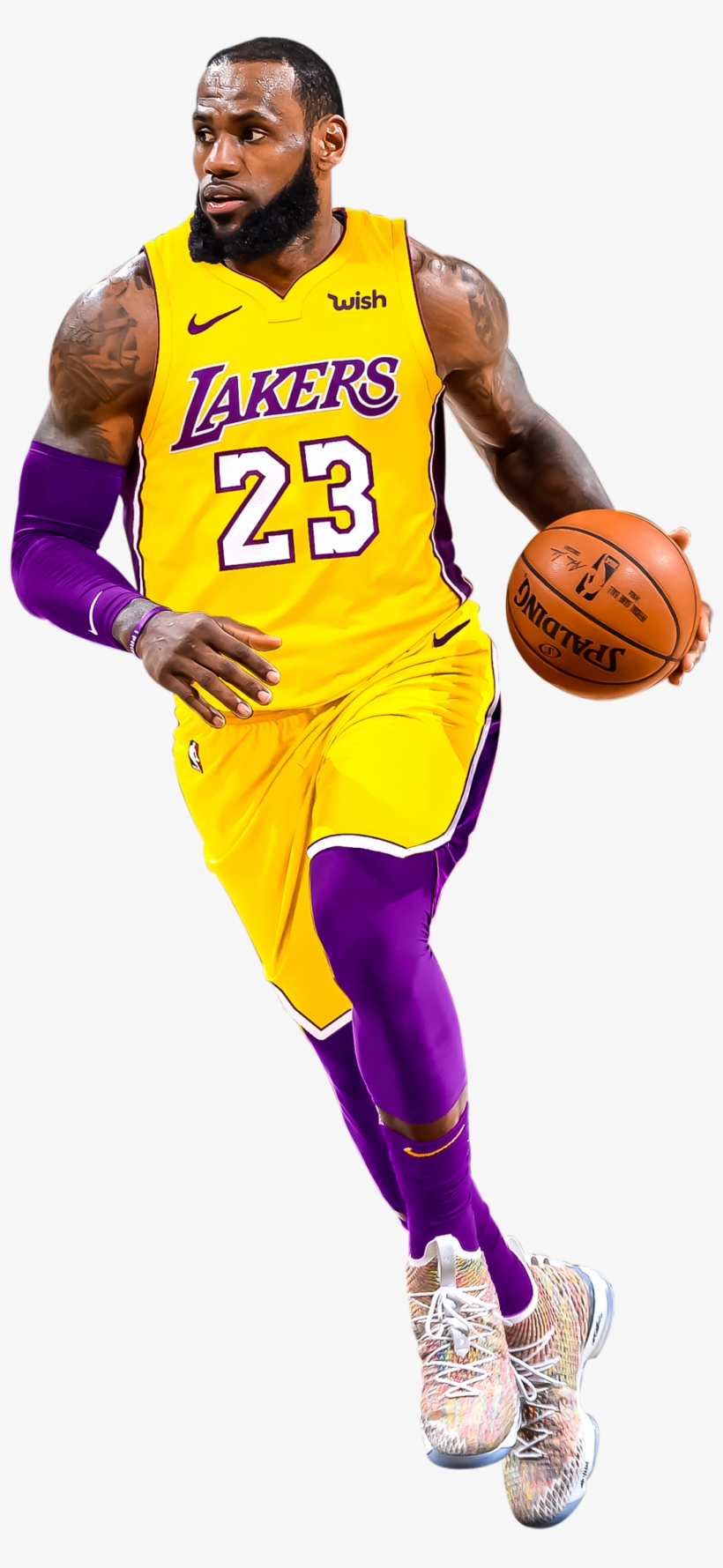 Edited Photo Lebron James Lakers Transparent Transparent Png 1804x2700 Free Download On Nicepng