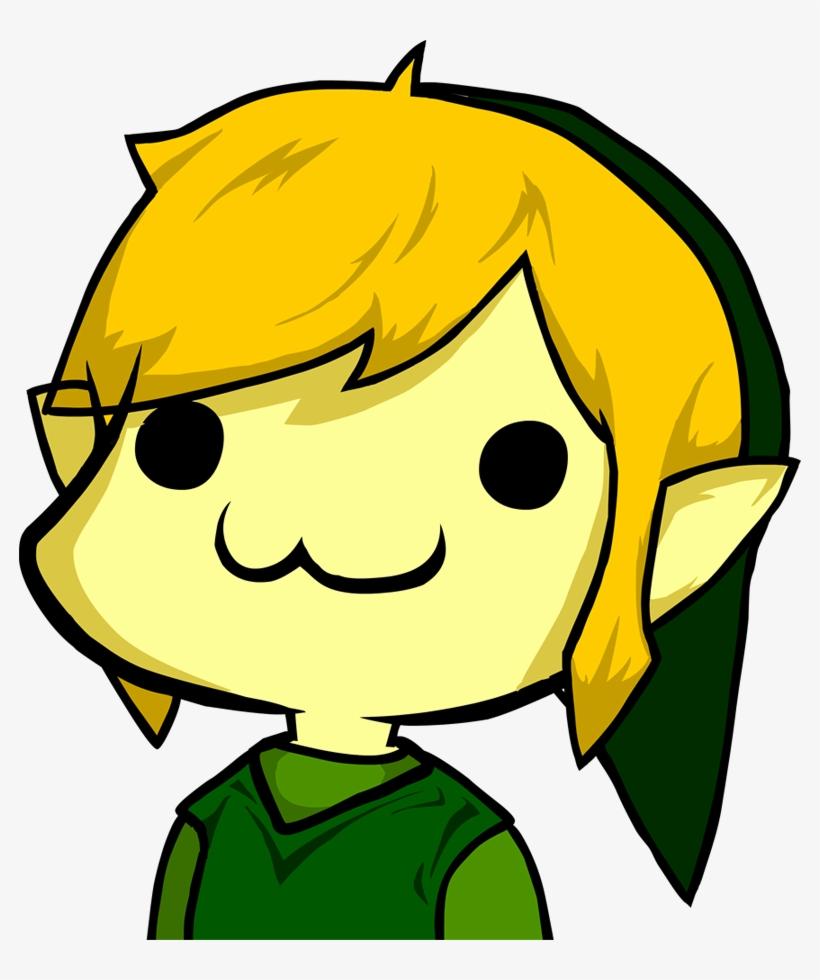 Toon Link Images Cute Link Legend Of Zelda Transparent Png