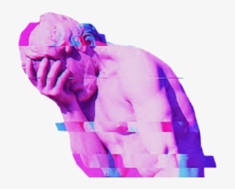 May Glitch Purple Effects Pretty Sad Arthoe Artisticexp