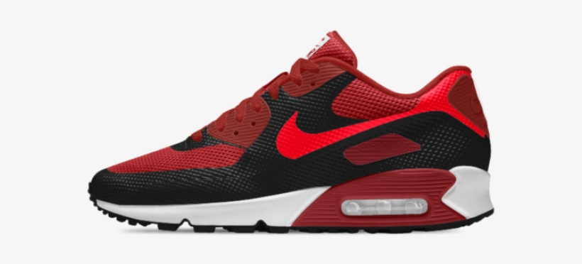 Red N Black Air Max Nike Air Max 90 Essential Id Men's