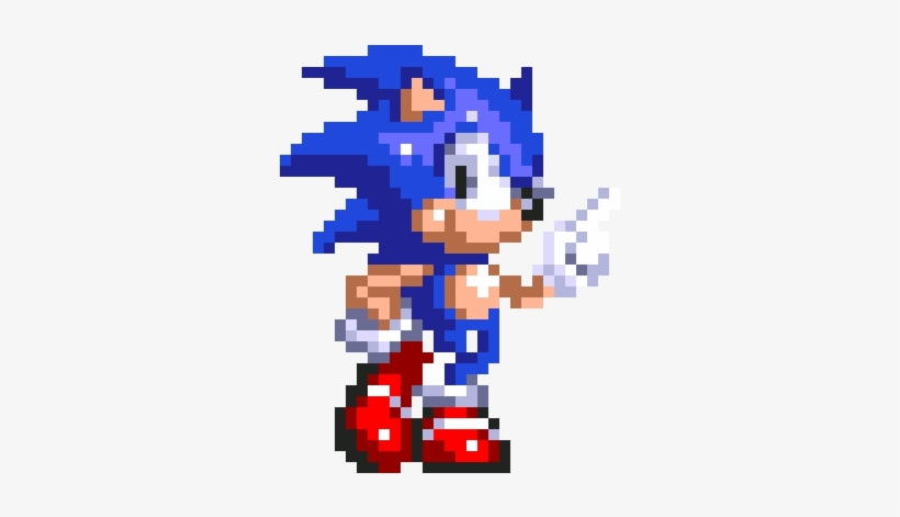 Sonic 8 Bit Sonic Gif Transparent Png 320x390 Free Download On Nicepng
