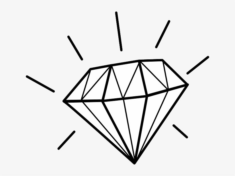 Diamond gem. Precious expensive shiny jewel