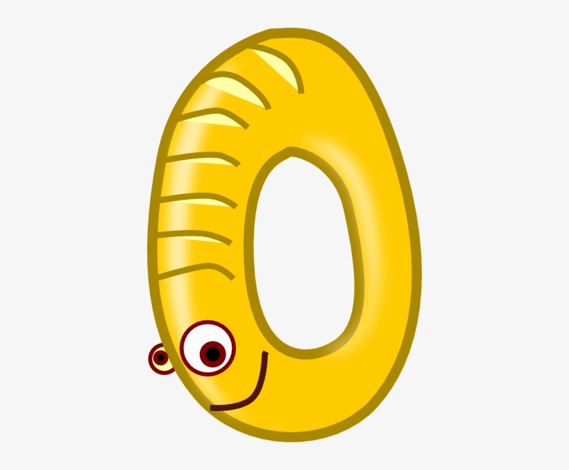Number Zero Yellow Clip Art At Clker Number 0 Clipart Transparent Png 396x598 Free Download On Nicepng