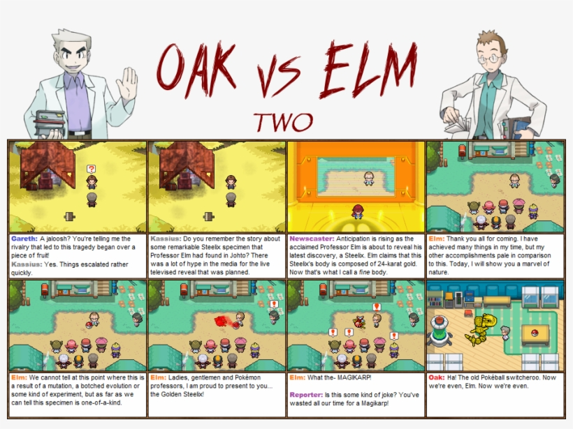 Highlight This Box With Your Cursor To Read The Spoiler - Oak Vs Elm