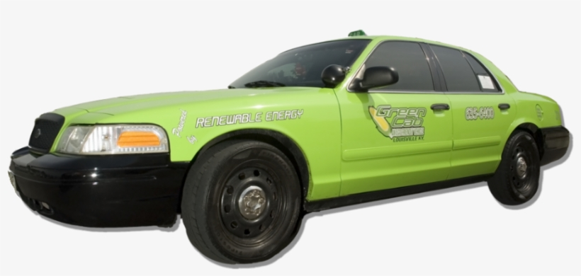 Green Cab Of Louisville - Taxicab Transparent PNG - 1170x458
