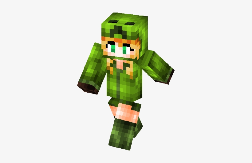 Chica Creeper Skin Skins Minecraft Chica Creeper Transparent Png 317x453 Free Download On Nicepng