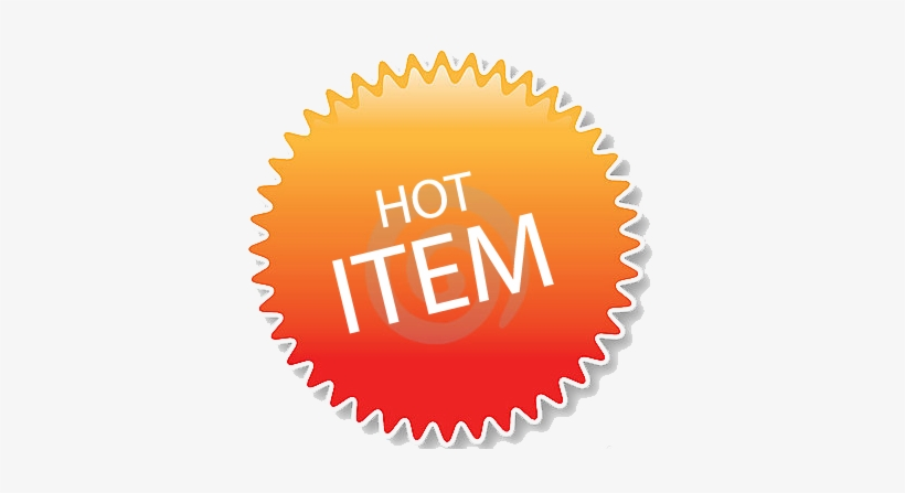 Hot Item Icon - Hot Item Logo Png Transparent PNG - 374x367 - Free Download  on NicePNG
